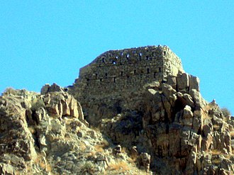 Meghri - The remains of Meghri Fortress of the 11th century