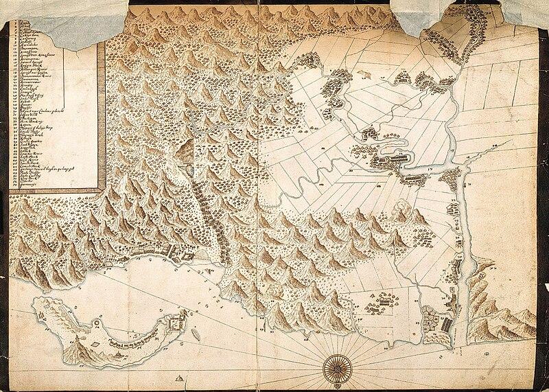 File:《Kaartje van Tamsuy en omleggende dorpen, zoo mede het eilandje Kelang》.jpg