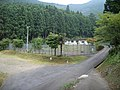 大杉谷林間キャンプ場 駐車場・テニスコート - panoramio.jpg