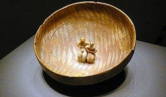 Gumelnița–Karanovo culture - Modern reproduction of Gumelnita ceramics