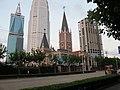 红枫路上的张家楼天主教堂 - panoramio.jpg