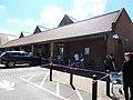 -2020-06-13 COVID-19 Social distance at Tesco, Aylsham, Norfolk.JPG