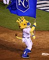 -WorldSeries Game 1- Sluggerrr celebrates (22873989932).jpg