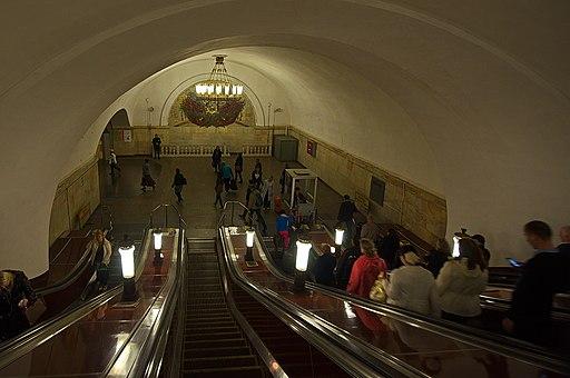 0015 - Moskau 2015 - Metrostation Komsomolskaja (26371672606)