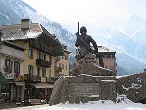 Michel-Gabriel Paccard - Image: 00 Chamonix Mont Blanc M G Paccard