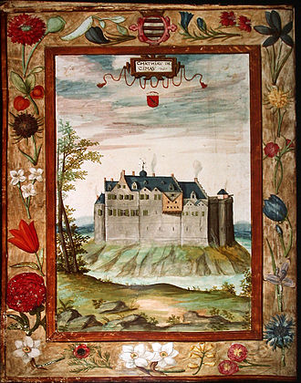 House of Croÿ - Castel of Chimay.