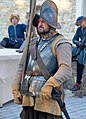02020 0405 An German Pikeman of the Polish Commonwealth, with kettle hat, corselet, and sword.jpg
