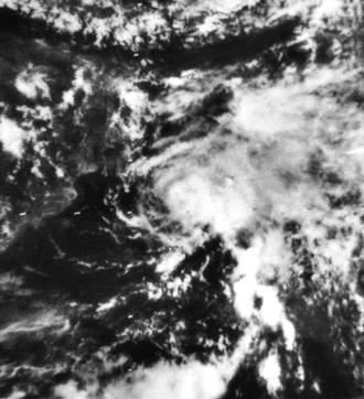 1970 North Indian Ocean cyclone season - Image: 02B May 23 1970 0522Z