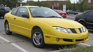 Pontiac Sunfire - Image: 03 05 Pontiac Sunfire
