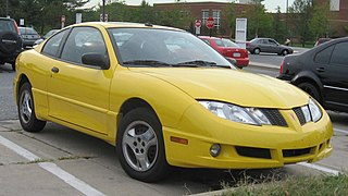Pontiac Sunfire Motor vehicle