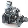 0434 Mamiya Universal Super 23 75mm f5.6 lens with finder (5872936273).jpg