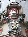088 Farmàcia al c. Sant Miquel, 10 (Manresa), detall ornamental i copa d'Higiea.jpg