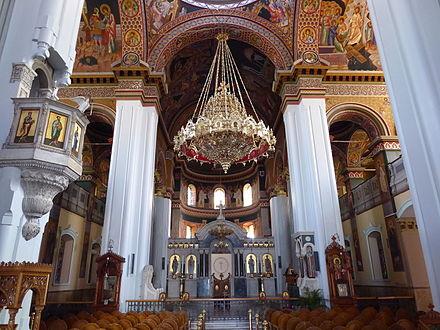 Kronleuchter Mit Doppeladler ~ Minas kathedrale iraklio wikiwand