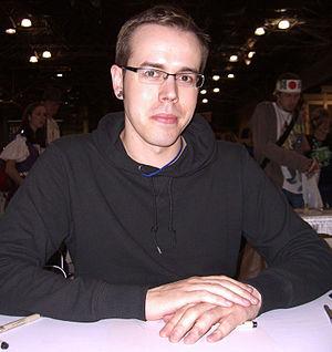 Jamie McKelvie - McKelvie at the New York Comic Con in Manhattan, 10 October 2010.