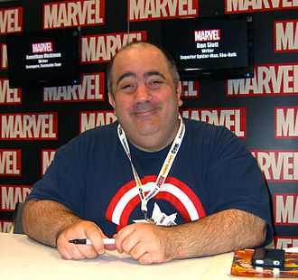 Dan Slott - Slott at the 2012 New York Comic Con