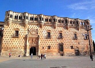 Guadalajara, Castilla–La Mancha - Isabelline style Palacio del Infantado (15th century)