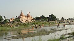 Shanti Ashram, on the banks of the river Brahamaputra, Kokilamukh (Jorhat), Assam,