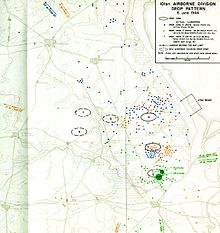 Map Of Drop Zones In France.Mission Albany Wikipedia