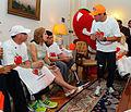 12-03-2012 Entrega invitaciones a Maratón de Stgo a Kevin Silva y otros 12 deportistas con habilidades especiales (6833769070).jpg