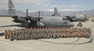 Kentucky Air National Guard - Kentucky ANG personnel with C-130Hs inAfghanistan 2009