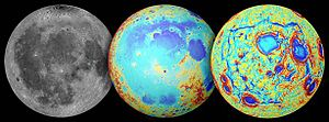 Origin of the Moon - Image: 14 236 Lunar Grail Mission Oceanus Procellarum Rifts Overall 20141001
