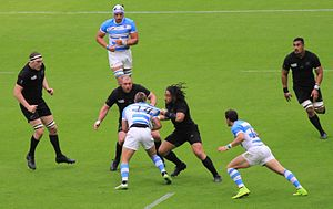 2015 Rugby World Cup Pool C - Image: 15 09 RWC New Zealand vs Argentina 039 (20957195364)