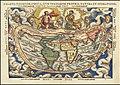 1553 world map - Charta Cosmographica, Cum Ventorum Propria Natura et Operatione.jpg