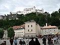 1592 - Salzburg - Kapitelplatz - Festung Hohensalzburg.JPG