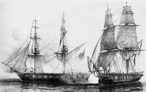 HMS Alacrity (1806) - Image: 16439307354855 abeille