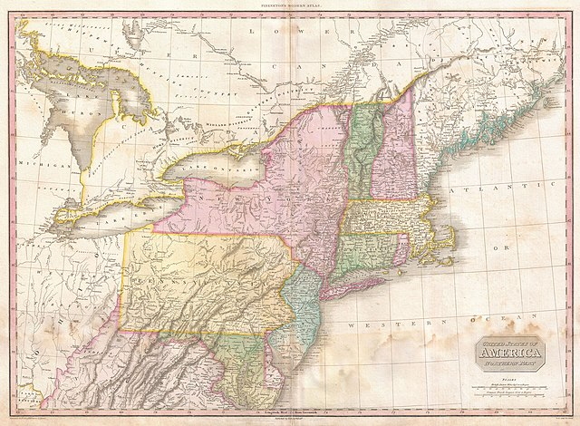 File1818 Pinkerton Map of the Northern United States