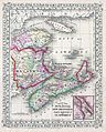 1866 Mitchell Map of New Brunswick and Nova Scotia, Canada - Geographicus - NewBrunswickNovaScotia-mitchell-1866.jpg