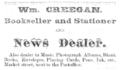 1875 Creegan advert Market Street in Shreveport Louisiana.png