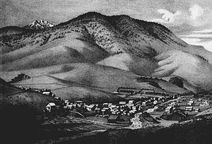 Canyon City, Oregon - Canyon City circa 1885