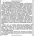 18990625 - Le Gaulois - Emplacement de la tombe définitive de Félix Faure.jpg