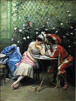 1900 Madrazo Masquerade anagoria