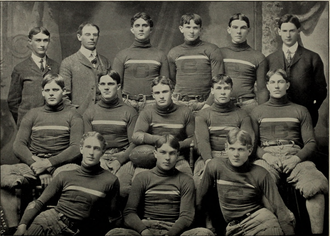 1903 Clemson Tigers football team - Image: 1903 Clemson Tigers football team (Oconeean 1904)
