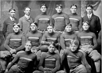 1903 Clemson Tigers football team - Image: 1903 Clemson Tigers football team (Oconeean 1904)