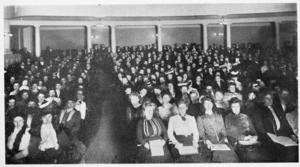 Handel and Haydn Society - Chorus rehearsal, 1903