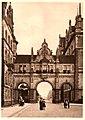 1913 Dirk Jan van der Ven Hannover in Panorama, Karl F. Wunder, Friedrich Astholz, Raadhuis-Passage.jpg