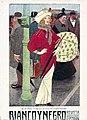 1914-03-01, Blanco y Negro, En la parada del omnibus, en París, Xaudaró.jpg