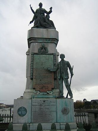 History of Limerick - Monument to the 1916 Rising, Sarsfield Bridge