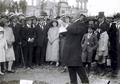 1921, Discurso Frente a Iglesia La Recoleta.png
