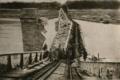 1929 - Podul de la Cosmesti distrus de genistii romani - Kiritescu II 550.png