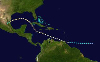 1933 Trinidad hurricane Category 2 Atlantic hurricane in 1933