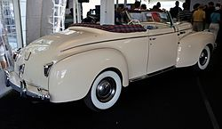 1940er Chrysler New Yorker Highlander Cabrio