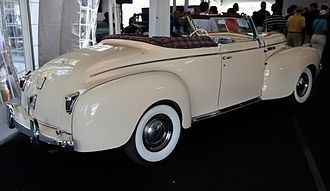 Chrysler New Yorker - 1940 New Yorker Highlander convertible coupe