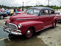 Chevrolet stylemaster wikipedia for 1946 chevy 4 door sedan