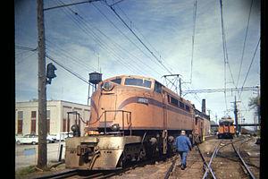 Little Joe (electric locomotive) - A South Shore Line unit in 1966