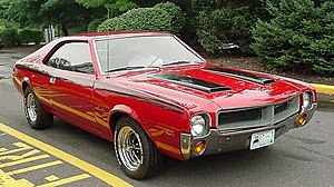 AMC Javelin - 1968 AMC Javelin base model