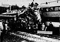 1972 Chicago commuter rail crash wreckage.jpg